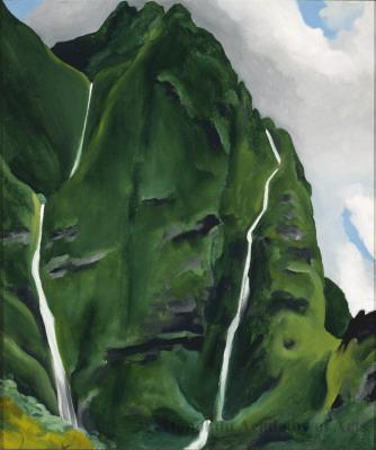 Waterfall—End of Road—'Iao Valley, 1939