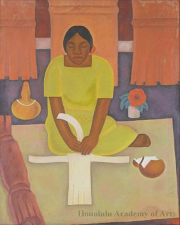 Untitled (The Mat Weaver)