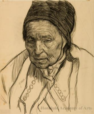 Old Woman from Brittany