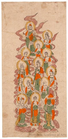 Jüsambutsu-Mandala: Mandala of the Thirteen Buddhas