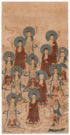 Jüsambutsu-Mandala: Mandala of the Thirteen Buddhas
