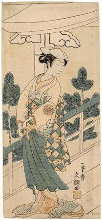 The Actor Sanogawa Ichimatsu II