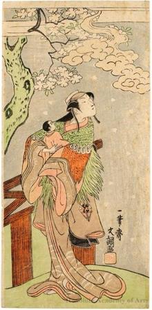 Nakamura Matsue I as Yoshino Otome Disguised as Sakuragi