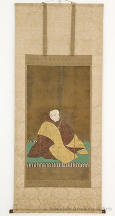 Portrait of Prince Son'en (1298-1356) as Tendai Abbot